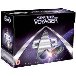 Star Trek Voyager komplette Box 7 Staffeln 48 DVD´s dt. Ton @ amazon.co.uk 78€