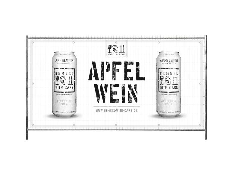 """Apfelwein """"Bembel with Care"""" Lokal im Edeka Heppenheim und Lautertal"""
