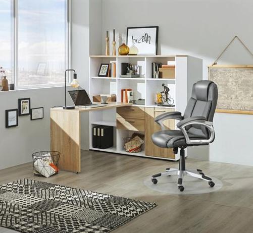 Mini-Office mit Regal und Schreibtisch bei XXXL
