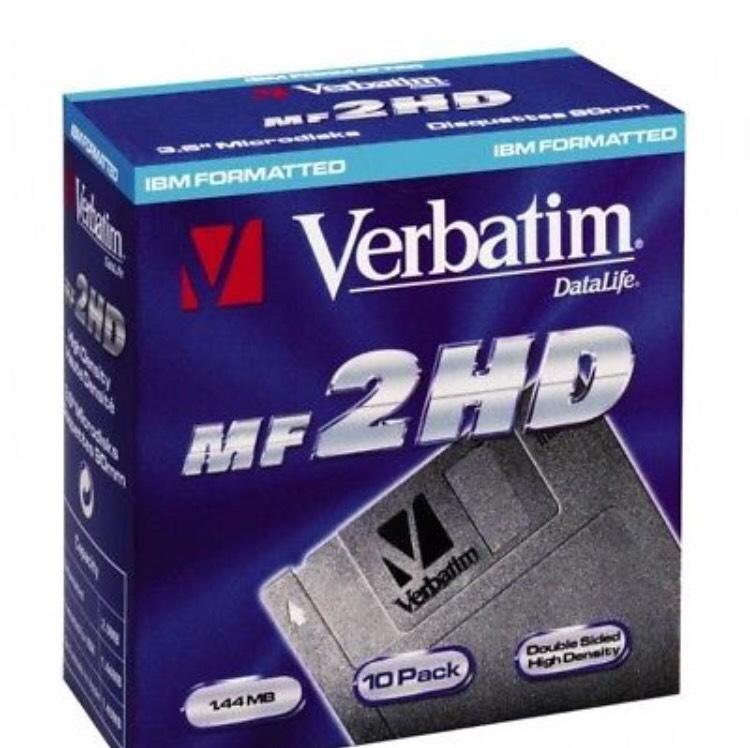 "[eBay] 10 Verbatim 3,5"" Datalife MF2HD Disketten"