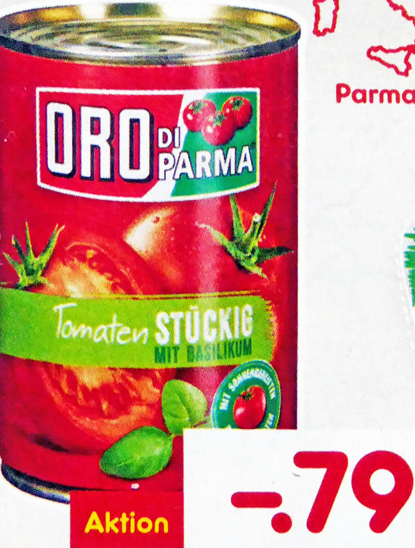 Oro Di Parma für 0,79€ und Barilla Pesto für 1,99€ (Netto MD)