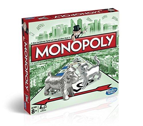 [AMAZON PRIME] Monopoly Classic, Familienspiel - Hasbro Monopoly C1009100