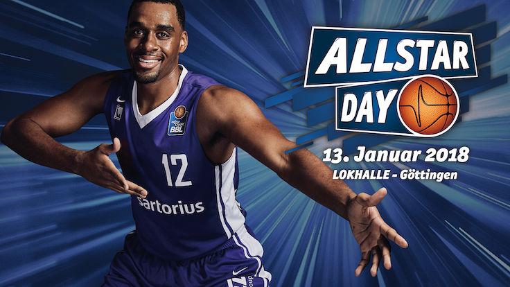 BBL Allstar Day 2018 - 13.01. 20 Uhr LIVE auf Telekom Sport