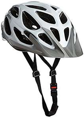 Amazon UK - MTB Fahrradhelm Alpina Mythos 2.0 Farbe: white-silver, 52-57 cm. Auch Gr. 57-62 für 30,69 Euro.