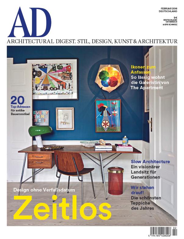 Jahresabo ARCHITECTURAL DIGEST + 65€-amazon für 68€