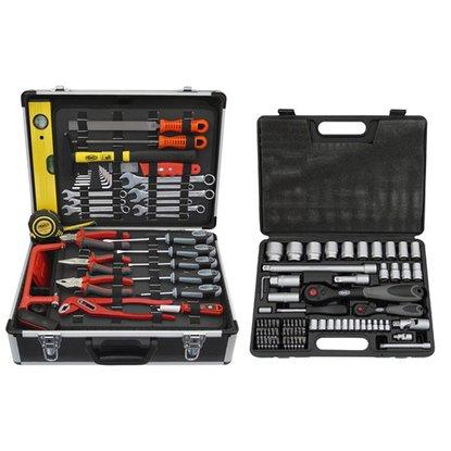 [OBI] Famex Werkzeugkoffer Universal 744-48 inkl. Steckschlüsselsatz