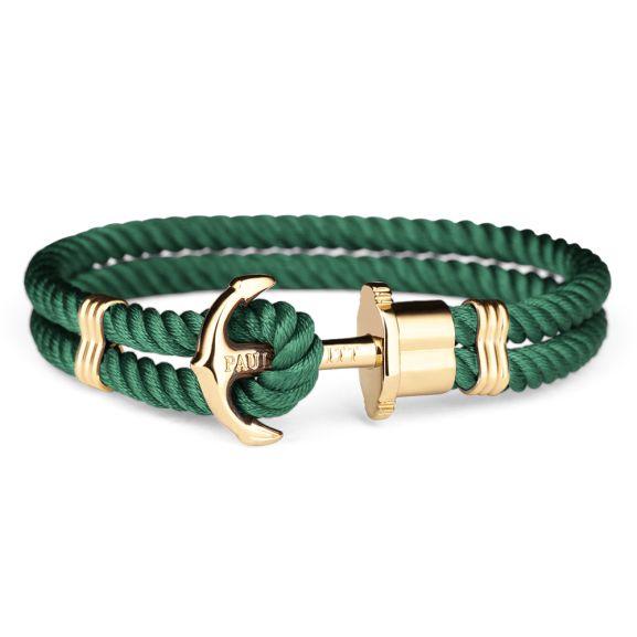 Paul Hewitt Sale - Ankerarmband ab 14,90€ (Grün) / Wickelarmband 29,90€ / Knotenarmband 9,90€
