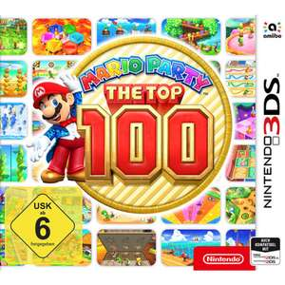 [Nintendo 3DS] Mario Party The Top 100 für 30,99 € + 3% Coupon