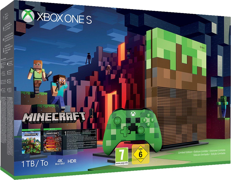 [Lokal: MM Köln Arcaden] Xbox One S 1 TB Minecraft Limited Edition Bundle
