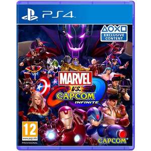 Marvel Vs Capcom Infinite (PS4) für 16,19€ (MyMemory)