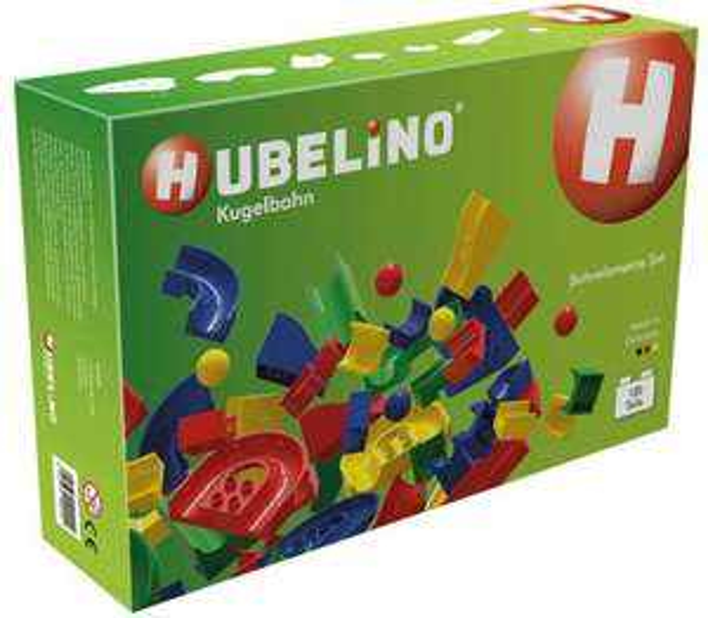HUBELINO-Großes 120-teiliges Bahnelemente-Set