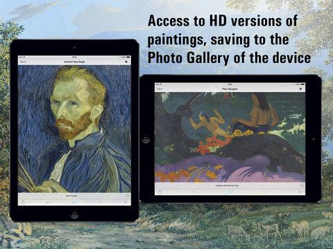 """Kunstliebhaber aufgepasst, derzeit gibt es die Iphone-App """"National Gallery of Art HD"""" kostenlos im Appstore!"""