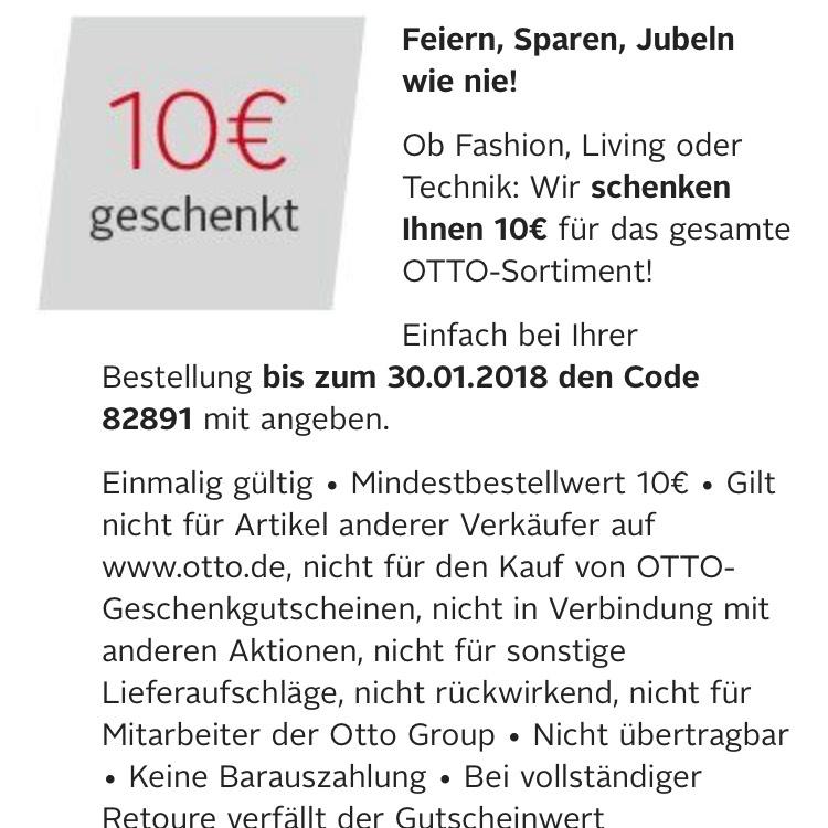 10€ Gutschein geschenkt 10€ MBW