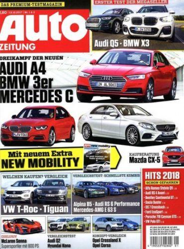 Auto Zeitung 1 Jahr (+ggf 1 Monat) 78,75 Euro +  78,75€ Verrechnungscheck + Miniabo gratis