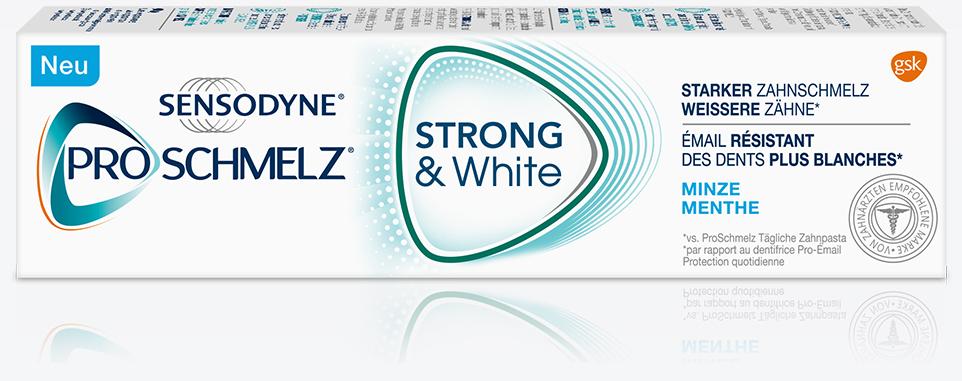 Sensodyne PROSCHMELZ (75ml) Strong & White gratis, Geld-zurück-Aktion