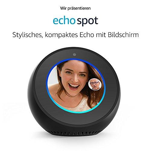 Amazon Echo Spot Vorbesteller 2 Kaufen 40€ Sparen !!