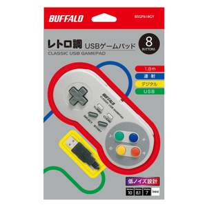 Buffalo USB Retro-Gamepads direkt über Amazon Japan mit 20% Rabatt (ab 9,43€/Stk.)