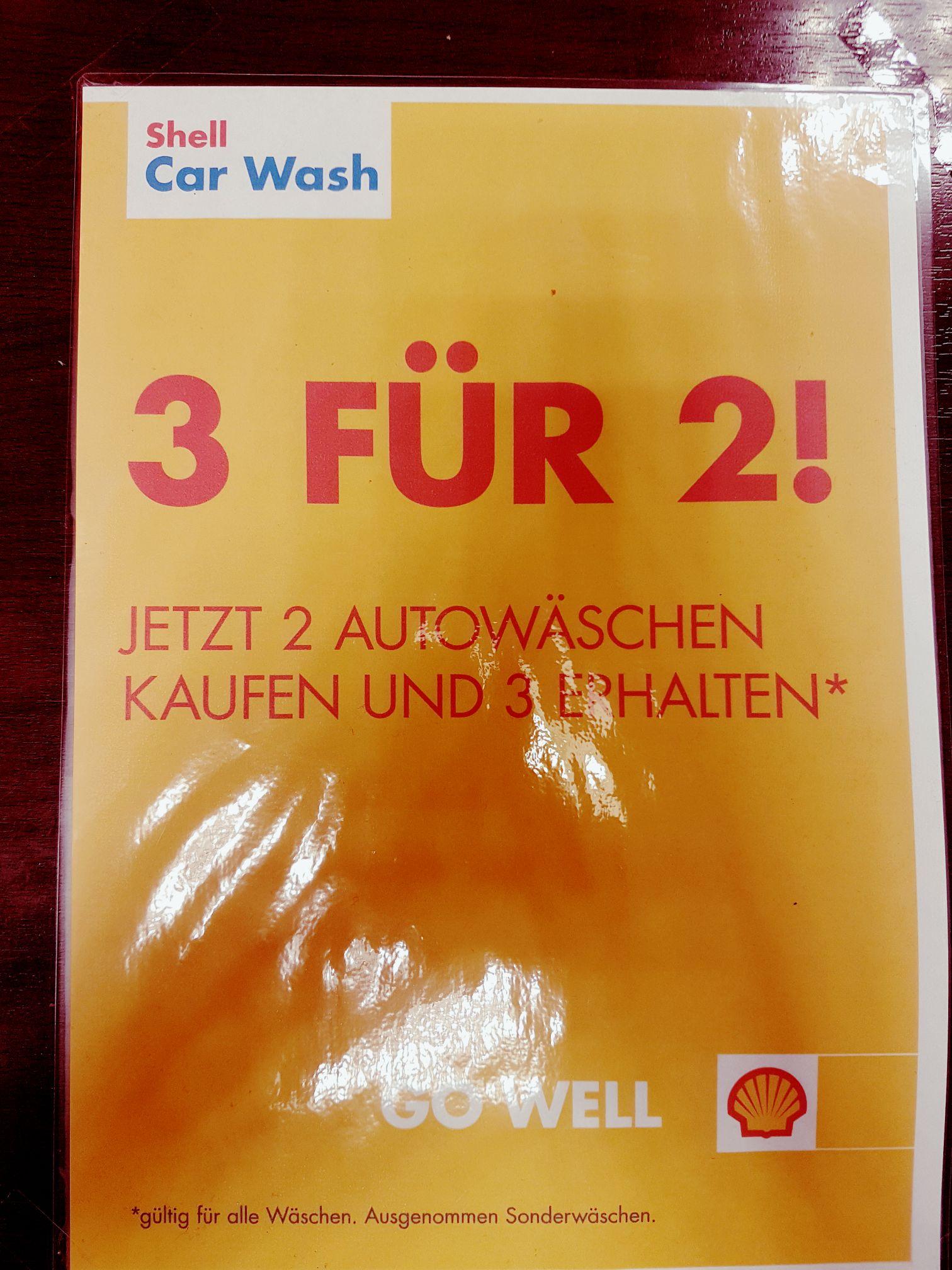 """Shell Aktionswäschen """"nimm 3 Zahl 2"""" (Rheda-Wiedenbrück)"""