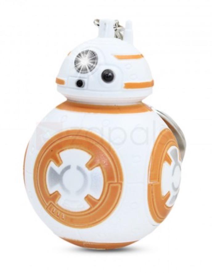 [zapals.com] 3D Star Wars BB-8 Robot Schlüsselanhänger mit Licht & Sound 0,51€ (nur VSK zahlen)