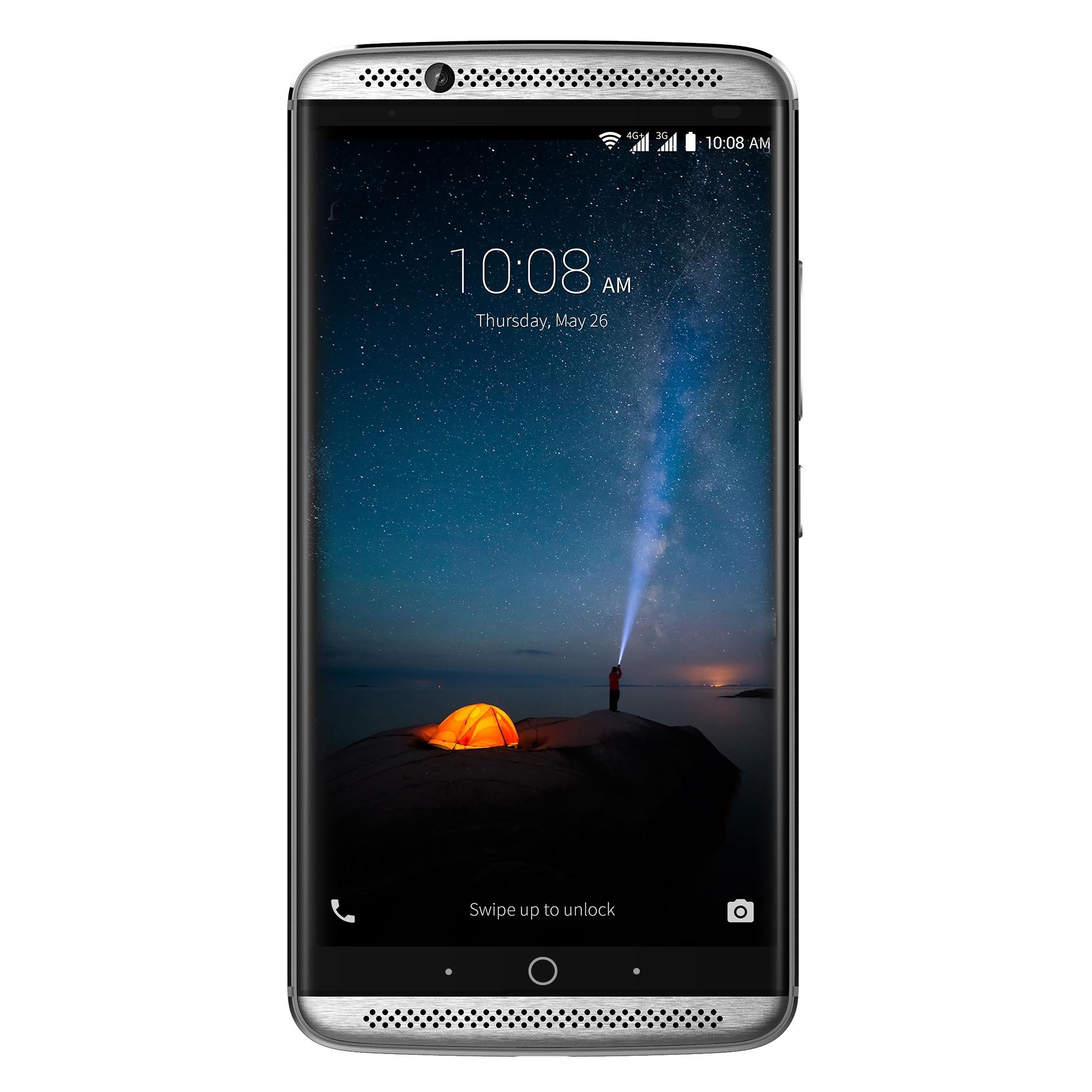 """[notebooksbilliger] ZTE Axon 7, grau, 64 GB, 5.5"""" WQHD-AMOLED-Display, 20 MP"""