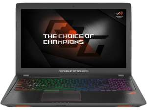 ASUS ROG Strix GL553VD-FY076T, Gaming Notebook mit 15.6 Zoll Display