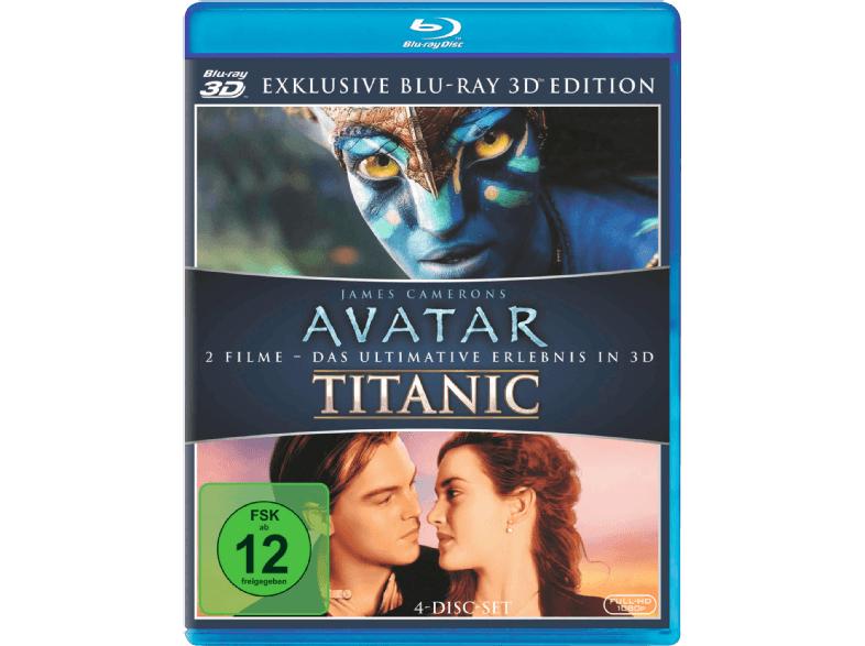 Avatar und Titanic 3D Blu-Ray Media Markt GDD