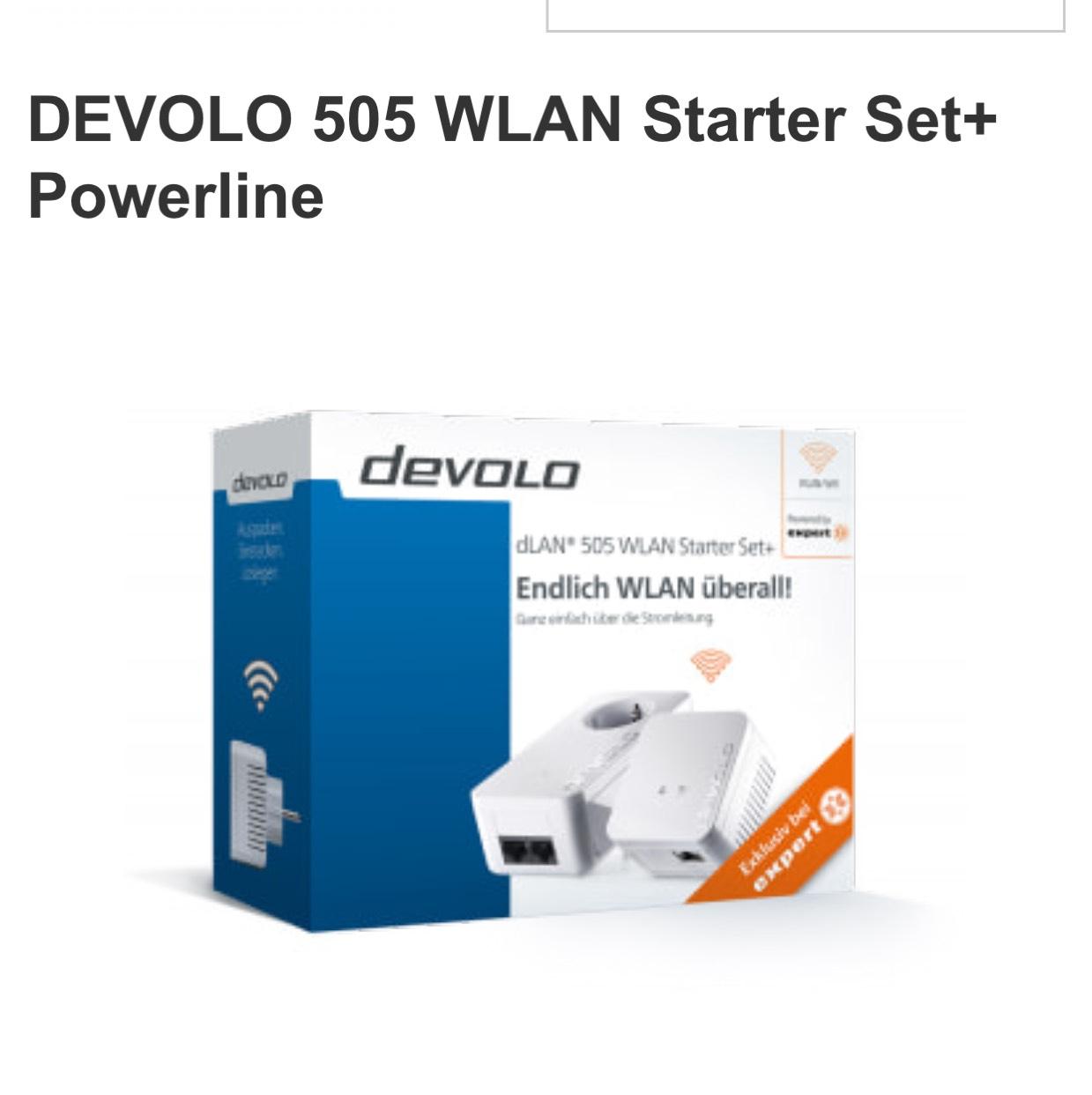 Devolo 505 WLAN Starter Set+ Expert Bundesweit