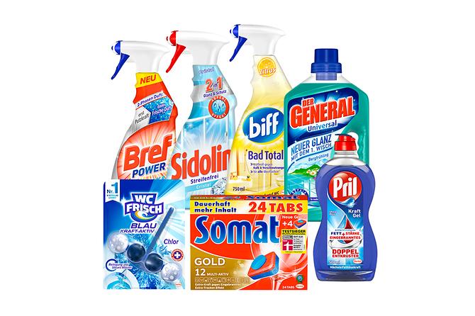 3€ Rabatt bei 10€ Einkauf auf Henkel Produkte bis 31.3.18