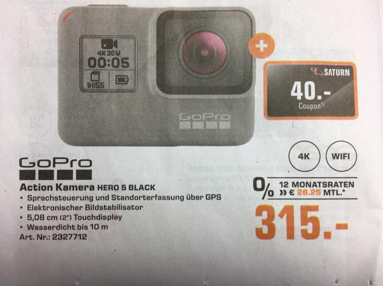 GoPro HERO 5 für unter 300,- Euro