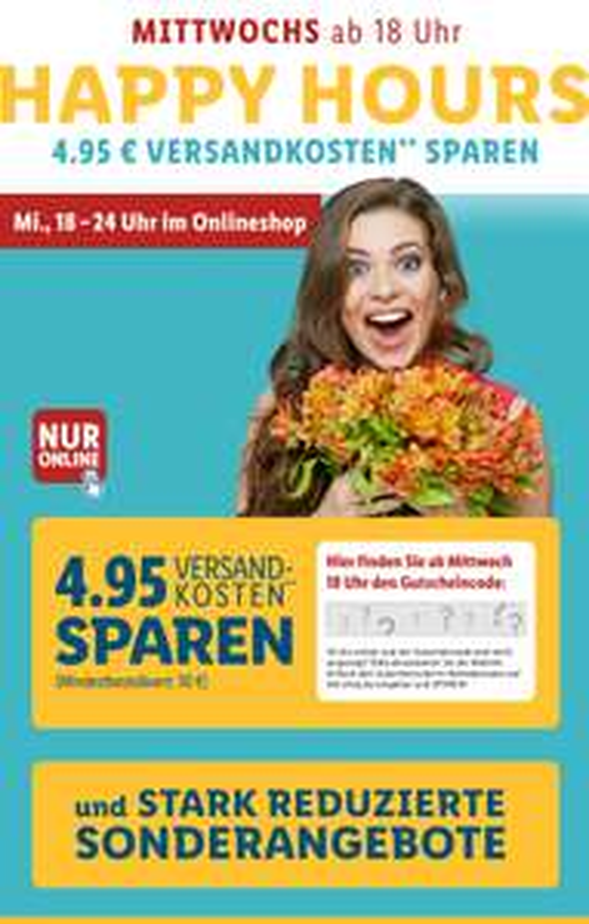 [Lidl Online] Mittwochs von 18 - 24 Uhr kostenloser Versand ab 30€ MBW