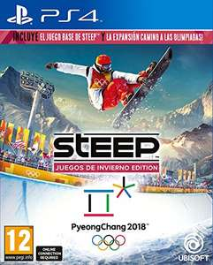 Steep: Winter Games Edition (Steep + Road to the Olympics) (PS4) für 31,38€ (Amazon ES)