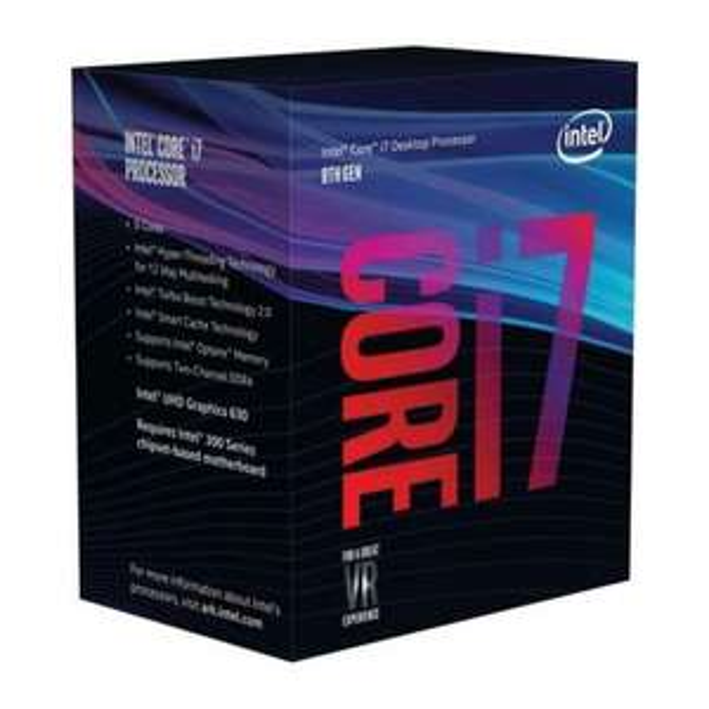 Intel i7-8700 CPU Prozessor 3,2 GHz 12 MB 6-Core 12 Threads LGA 1151 Coffee Lake