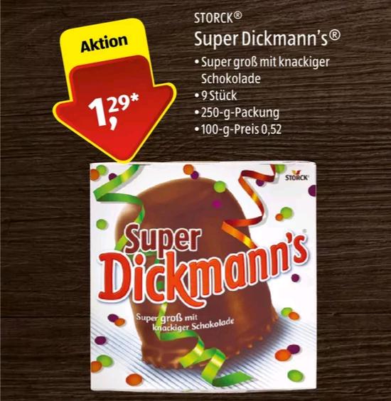 [Aldi Süd + Nord] Super Dickmann's für 1,29€ Wochenende 26. & 27.1.