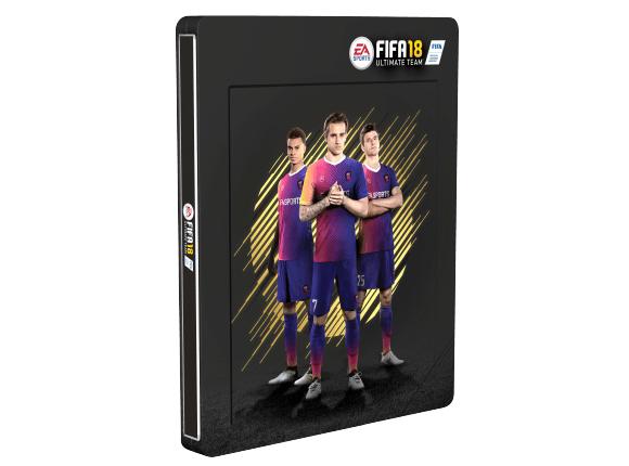 [Lokal] FIFA 18 3D Lenticular Steelbook - Saturn Berlin Leipziger Platz