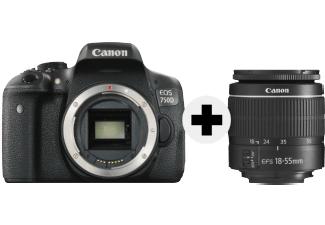CANON EOS 750D inkl. Objektiv 18-55MM EF-S [Media Markt]