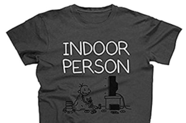 T-Shirt Indoor Person, sehr gute Qualität, portofrei unter 1 Euro! [Terrashop]