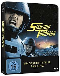 Starship Troopers - Limited Edition Steelbook (Uncut) für 16,49€ [Amazon Prime]