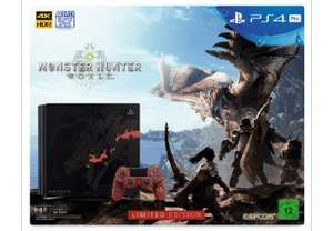 SONY PS4 PRO 1TB Monster Hunter: World - Ltd. Edition (Nur Online Saturn + MediaMarkt)