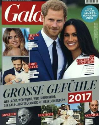 Gala Abo für 193,90 € im Jahr (51 Ausgaben) mit 150,- € BestChoice-Universalgutschein