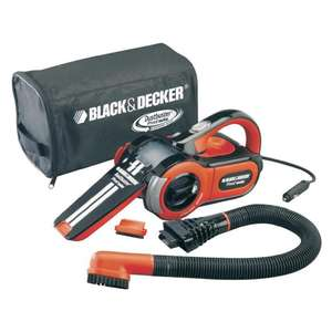Black & Decker PAV 1205 Autohandstaubsauger [Real]