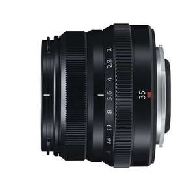 Fujifilm XF 35mm f / 2.0 R WR Objektiv Schwarz