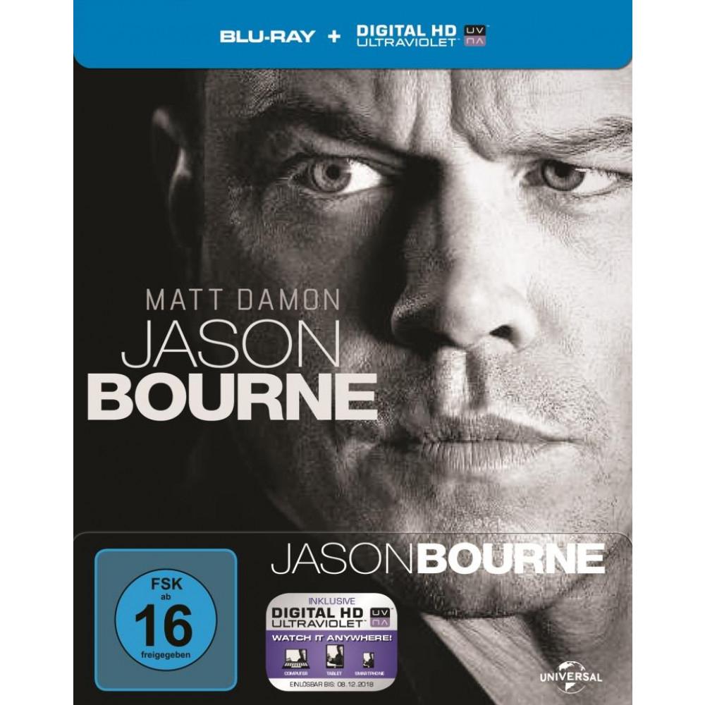 Jason Bourne (Blu-ray im Steelbook) für 4,49€ (Müller)