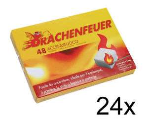 24 x 48er Feueranzünder für Kamin und Grill (1152 Stück) für 14,99€