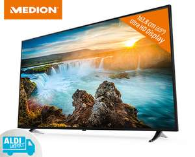 [Aldi Süd ab 25.01.18] 65-Zoll-UHD-SmartTV Medion Life X16515