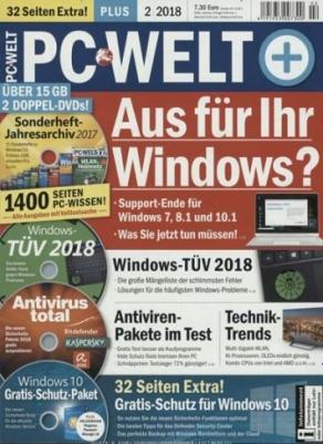PC Welt Abo (4 Ausgaben) für 22,95 € mit 22,95 € Verrechnungsscheck