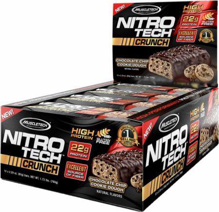 MuscleTech NitroTech Crunch Bar 12 Riegel für 15,40€