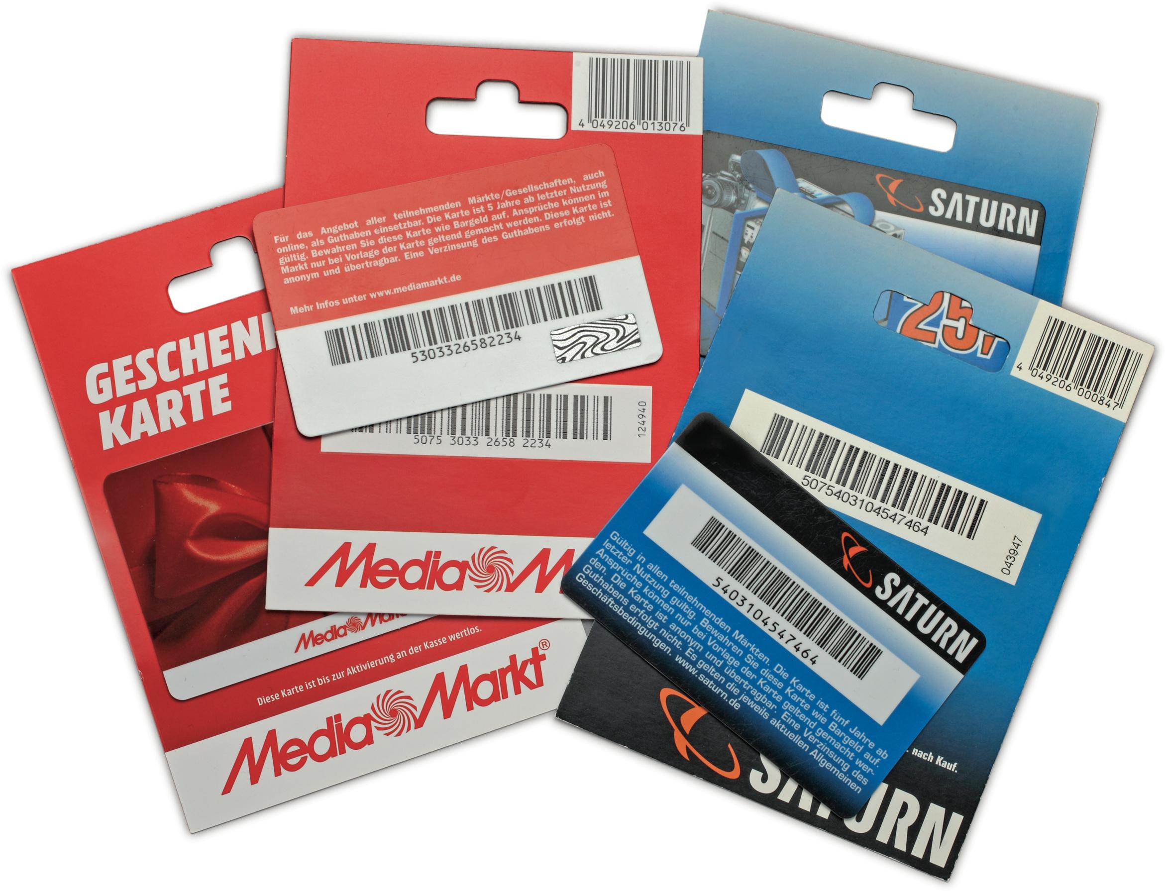 [Zeek] Media Markt & Saturn Geschenkkarten 16% günstiger für Neukunden