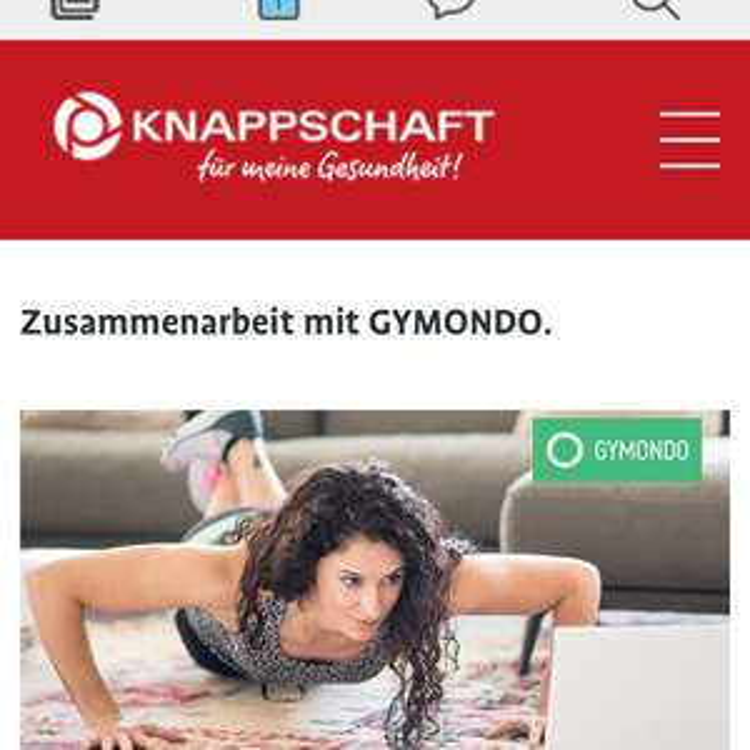 [Knappschaft] Gymondo 12 Monatsabo mit 30% Rabatt & 70€ Bonusprämie macht ihr 11€ Plus!