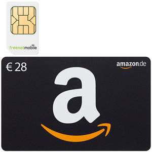 freenetMobile DUO (2) SIM-Karten + 28 EURO AMAZON GUTSCHEIN  (Klarmobil)