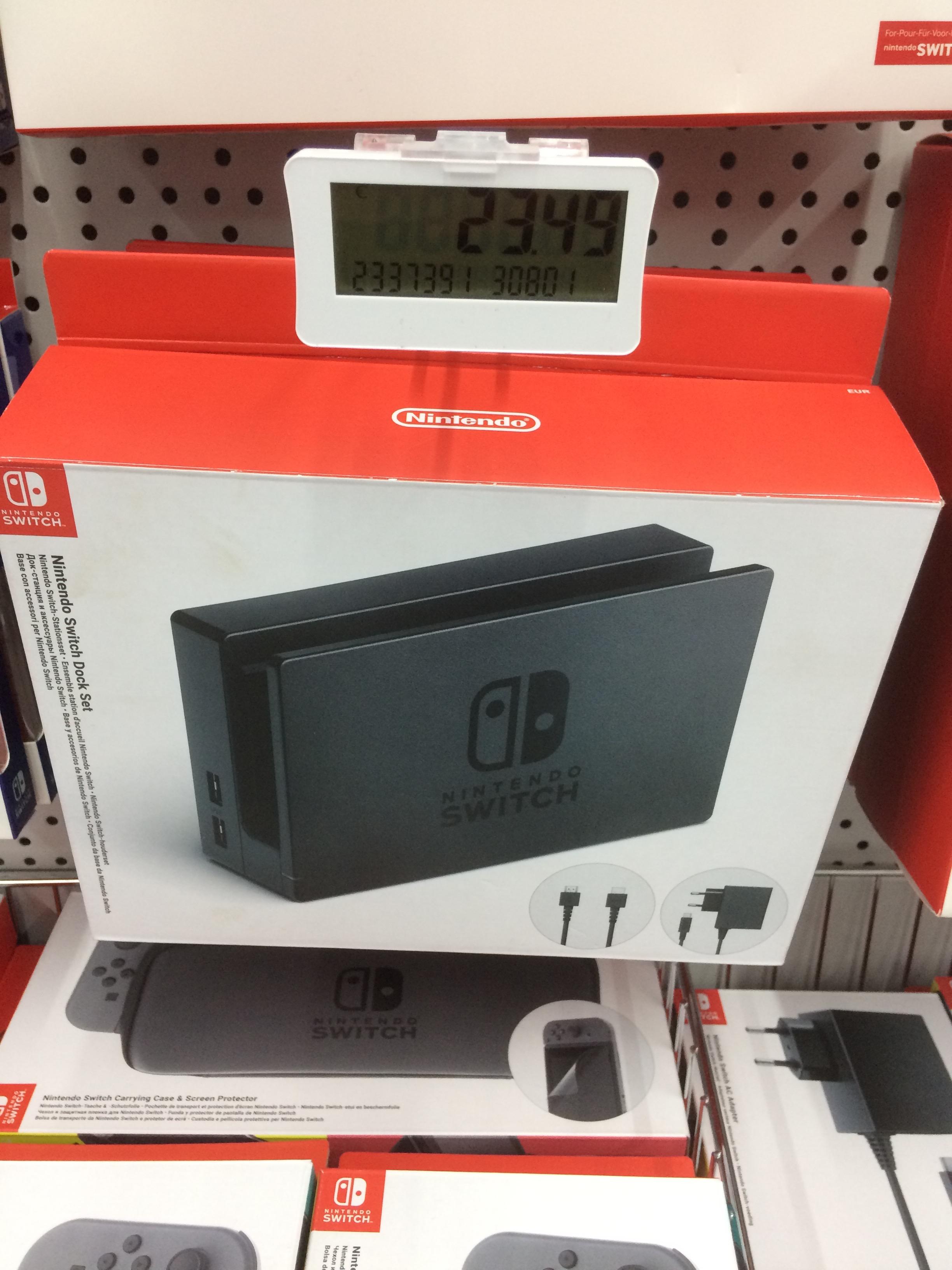 [lokal Media Markt Freiburg] Nintendo Switch Stationsset/Dock Set